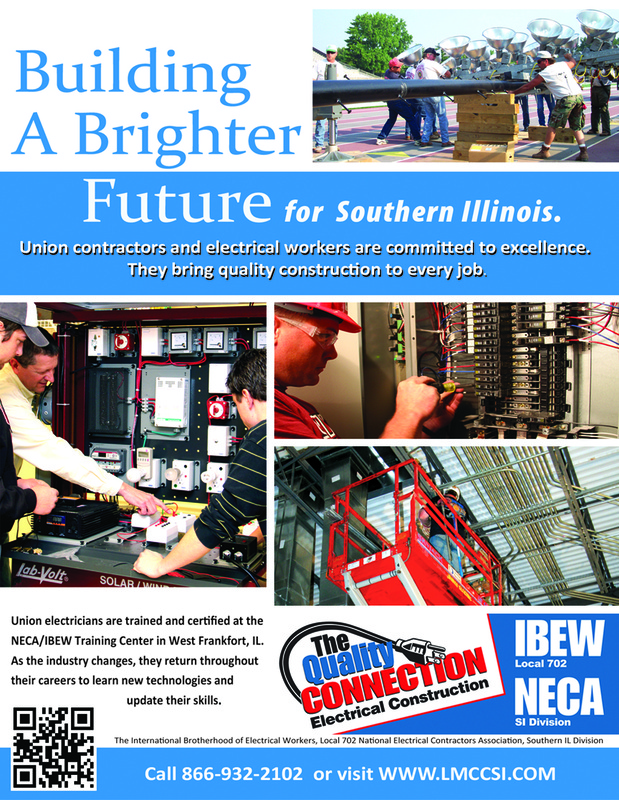 Print ads - Union Electrical Construction